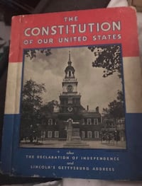 Constitution  and atlas. Great for school! Mishawaka, 46544
