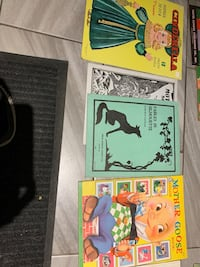 Old colouring book collection  Edmonton, T5W 2P1