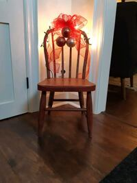 Antique Sunday School Chair Christmas Decoration *Delivery Available*
