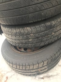 Honda Civic tires w/ regular rims 185/70/14