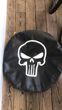 Punisher spare tire cover Wilmington