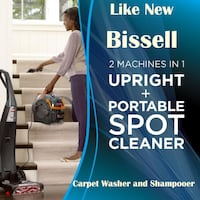 Bissell ProHeat 2X Lift Off Pet Carpet Washer and Shampooer Lanham