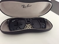 Black framed ray-ban sunglasses with case bought in Fla at Costco  Holland Landing, L9N 1E8