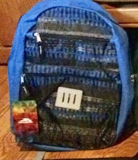 Mountain edge blue backpack, new with tag   Springfield, 65802