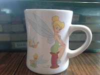 Adorable Tinkerbell Curved Mug Multiple Different Pictures! Toms River