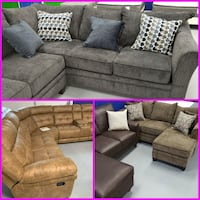 $50 Down NEW Sofas/Love Searts/Sectionals