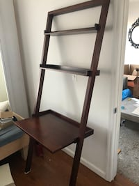Crate & Barrel Leaning Desk and Shelves New York, 11221