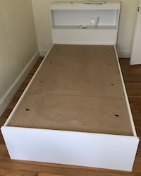 New twin sized platform bed
