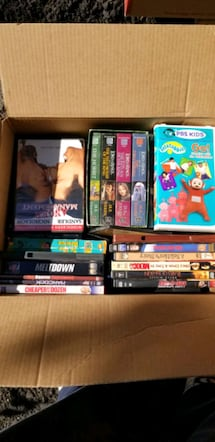 DVDs and VHS movies
