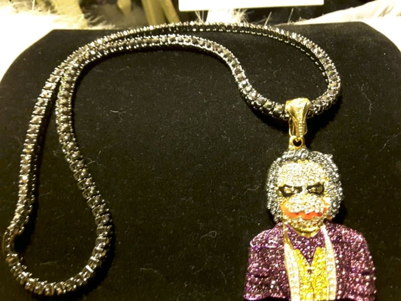 Necklace:  NEW Iced-Out 1Row $25 & TV Movie Guy $25 both=45$ 0d2cae1b-38f6-4f10-b013-9922cac83cfd