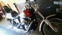 2000 harley orange red and gray,  motorcycle Fall River, 02720