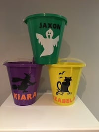 Personalized Halloween Buckets  Vaughan, L4L 9B3
