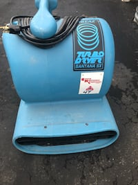 Turbo dryer Air blower. 2 spped..