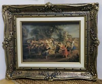 Vintage Victorian picture in antique ornate frame Toronto, M2J