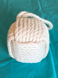 Decorative White Rope Ball Accent Riverton, 84065