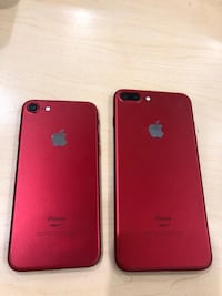 Product Red iPhone 7 Plus with box Boston, 02116