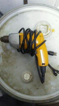 yellow and black corded power tool 230 mi