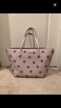 white and brown leather tote bag 3751 km