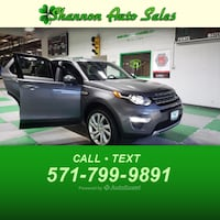 2016 Land Rover Discovery Sport HSE LUX Manassas