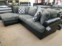 gray and black sectional couch College Park