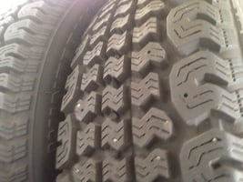 Only 2. Practically brand new winter tires. Fits Toyota