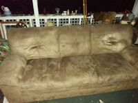 Micro fiber sofa(to be cleaned in the a m  DeBary, 32713