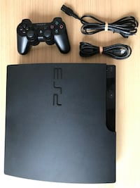 140GB PS3 Konsole + Kabelloser Controller