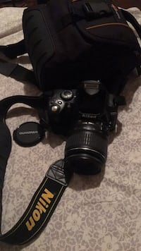 DSLR Nikon D40 with micro SD card and Case! Falls Church, 22044