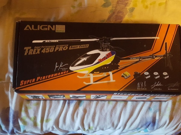 Align T-REX 450 Pro super combo helicopter brand n