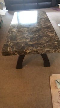 Coffee table, has a bad leg ( I did fix it) come with two end tables Severn, 21144