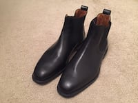 Men's Black Dress Shoes Allen Edmonds Chelsea Boots Size 8.5 Mc Lean, 22102