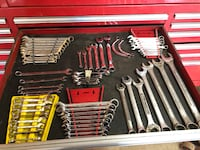 Assorted wrenches/MAC/MATCO/SK/CRAFTSMAN Deale