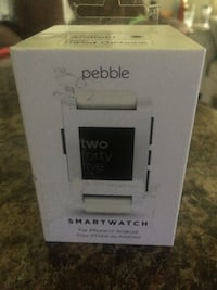 Pebble smartwatch (New) wirks with android and iphone Edmonton, T5W 1K8