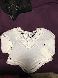 White top L never worn and grey dress size M  Winnipeg, R2Y 1Y1