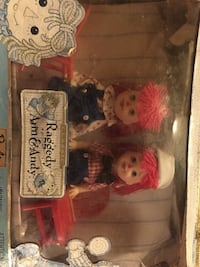 Raggedy Ann and Andy collectible dolls Norwich, N0J 1P0
