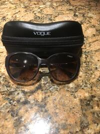 Like new Vogue Sunglasses with Case