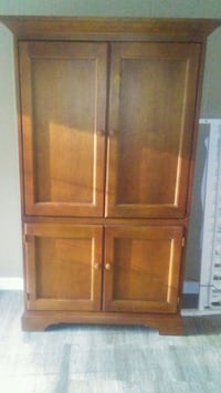 brown wooden cabinet with drawer Montgomery
