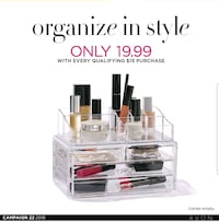 Makeup Organizer.  New in box Edmonton, T6M 2G7