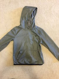 Size 4 gray pullover hoodie