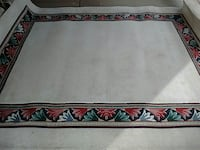 white and red floor rug Danville, 40422