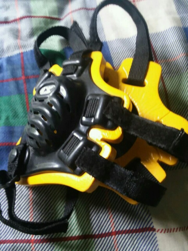 yellow and black DeWalt cordless power drill