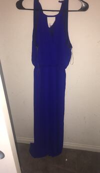 women's blue sleeveless dress North Las Vegas, 89084