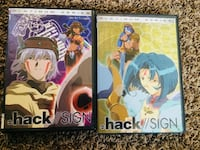 "''.hack//SIGN"" Anime DVDs Platinum Series v1-2 Orem"