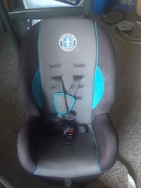 baby's black and blue car seat Calgary