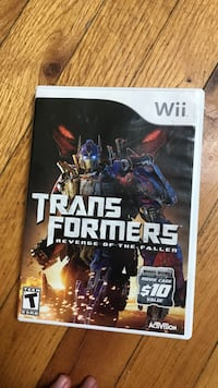 Transformers wii game  Newton, 07860