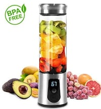 NEW Portable Smoothie Blender, 3-in-1 Cordless Juicer NEW 1/2 PRICE
