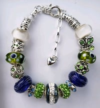 Blue and green charm bracelet Baltimore, 21224