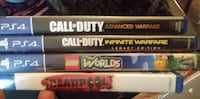 2 for 25.00 brand new ps4 games Lubbock, 79412