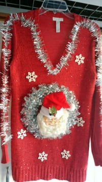 Santa's in the Middle Christmas Sweater Menifee, 92584
