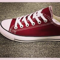 NEW Converse sneakers Ladies 7.5 Maroon Barrie, L4N 1G7